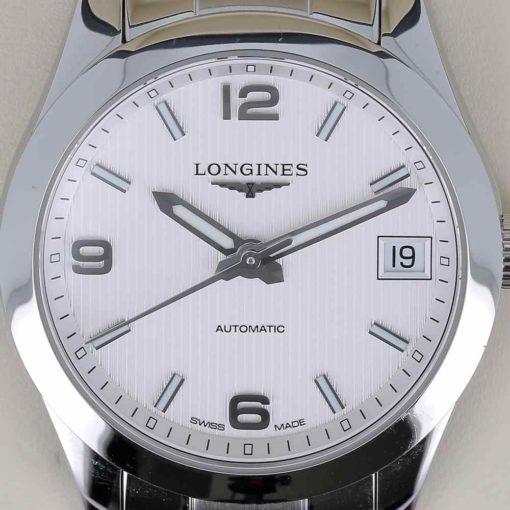 montre bracelet Longines conquest cadran