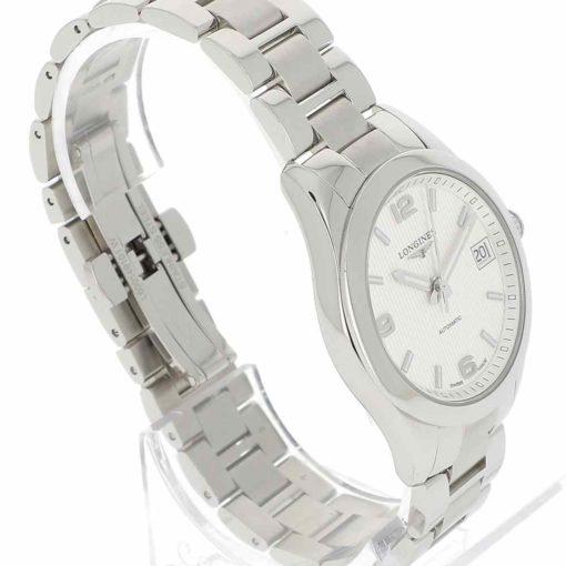 montre bracelet Longines conquest lunette