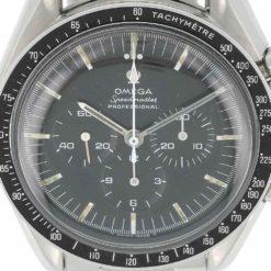 montre bracelet Omega speedmaster cadran