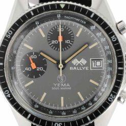 montre bracelet Yema sous marine chrono cadran