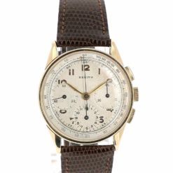 montre bracelet Zenith 3 compteurs cadran 2