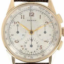 montre bracelet Zenith 3 compteurs cadran