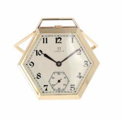 montre de poche Omega chevalet cadran 2