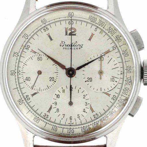 montre bracelet Breitling chronographe 734 cadran 3
