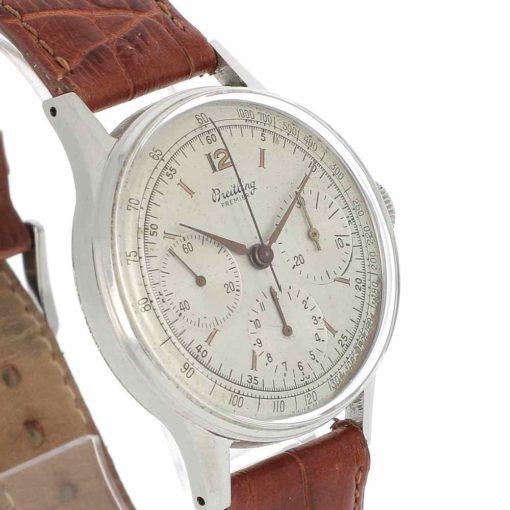 montre bracelet Breitling chronographe 734 lunette