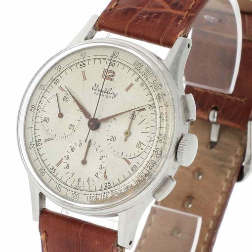 montre bracelet Breitling chronographe 734 remontoir