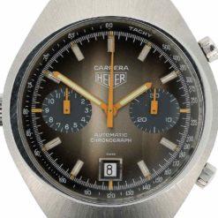 montre bracelet Heuer carrera cadran 3