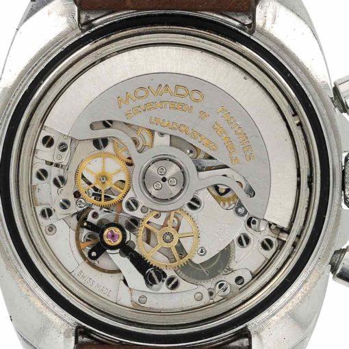 montre bracelet Movado datachron mouvement