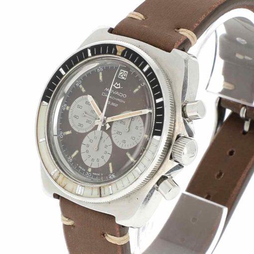 montre bracelet Movado datachron remontoir