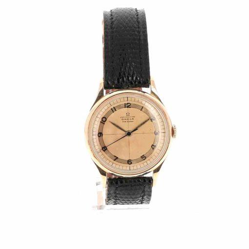 montre bracelet Omega chronometre cadran 2