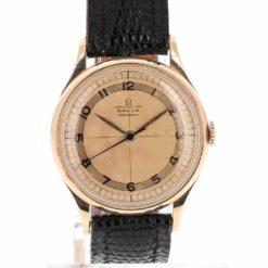 montre bracelet Omega chronometre cadran