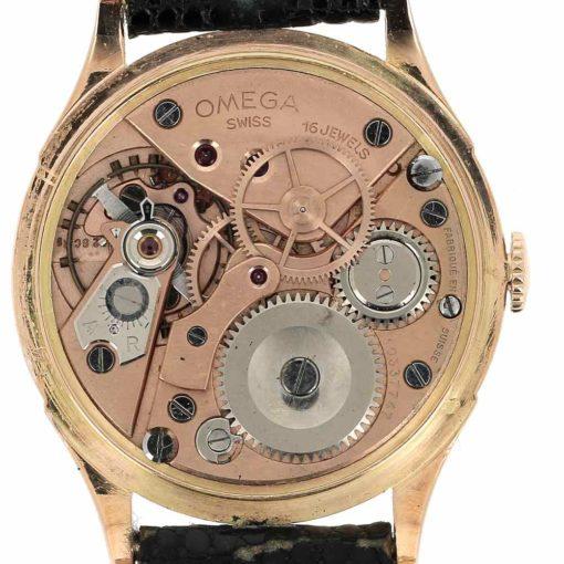 montre bracelet Omega chronometre mouvement