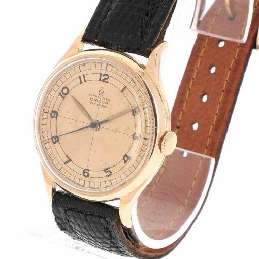 montre bracelet Omega chronometre remontoir