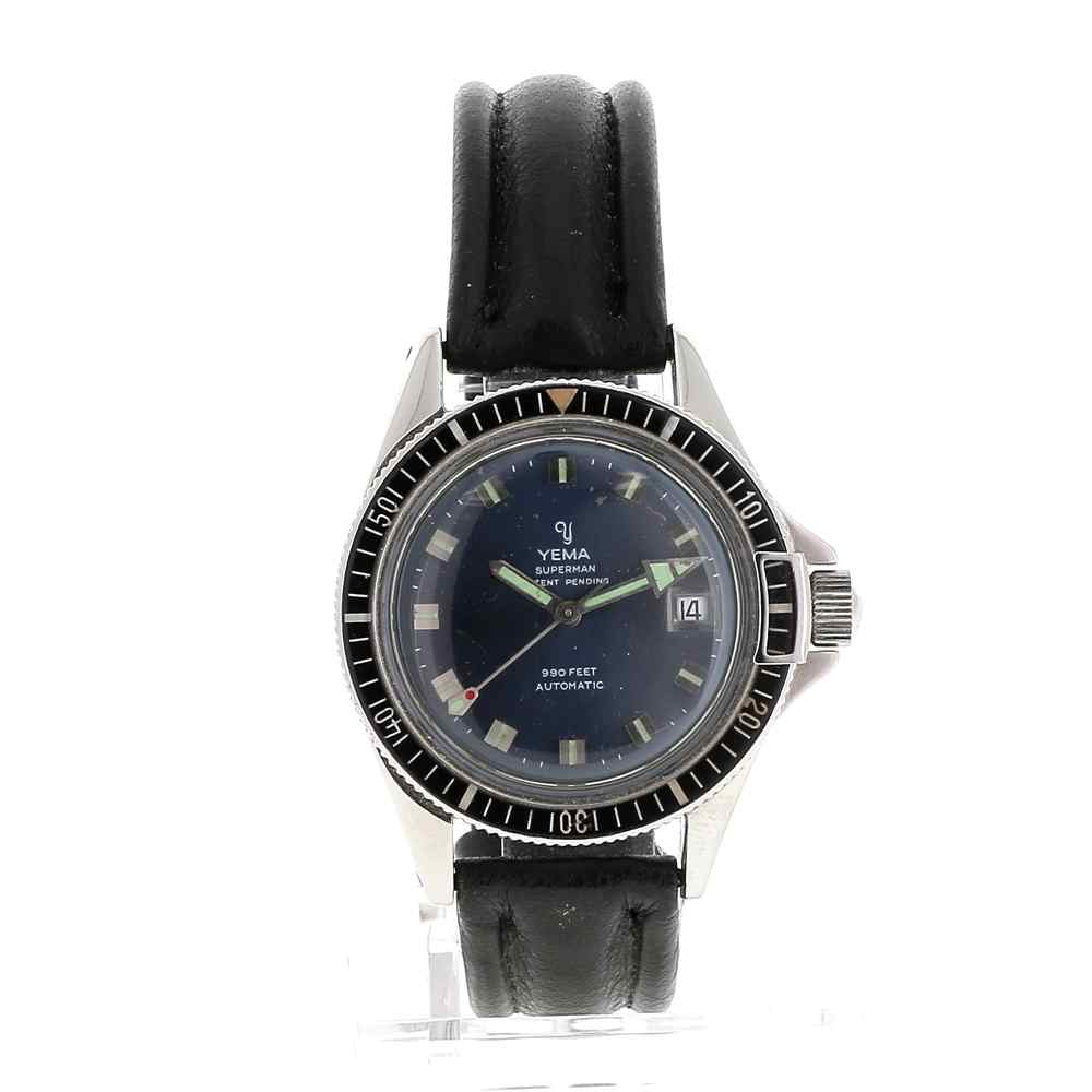 montre yema superman occasion achetez en ligne sur watch montre paris. Black Bedroom Furniture Sets. Home Design Ideas