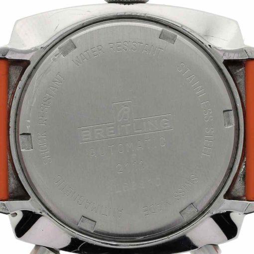 montre bracelet Breitling chrono matic fond