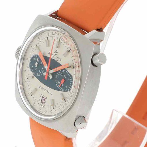 montre bracelet Breitling chrono matic lunette
