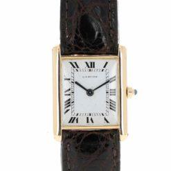 montre bracelet Cartier tank cadran 2