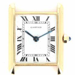 montre bracelet Cartier tank cadran 3