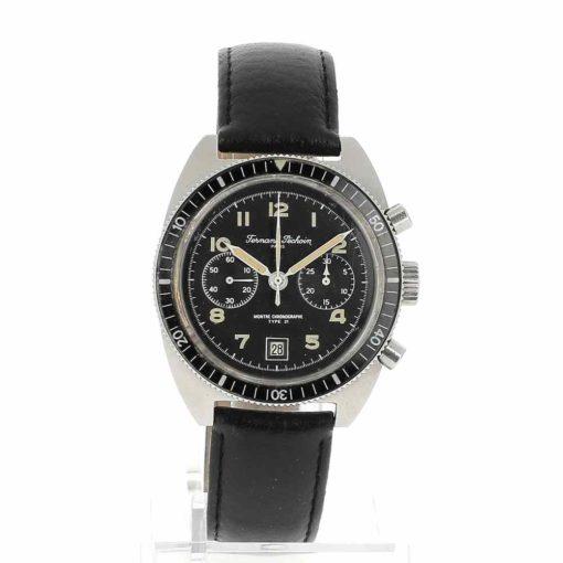 montre bracelet Fernand Pechoin chronographe cadran 2