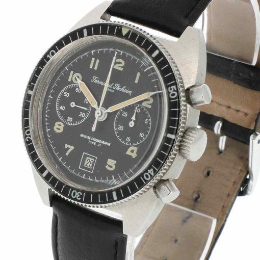 montre bracelet Fernand Pechoin chronographe remontoir