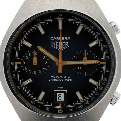 montre bracelet Heuer carrera calibre 12 cadran 3