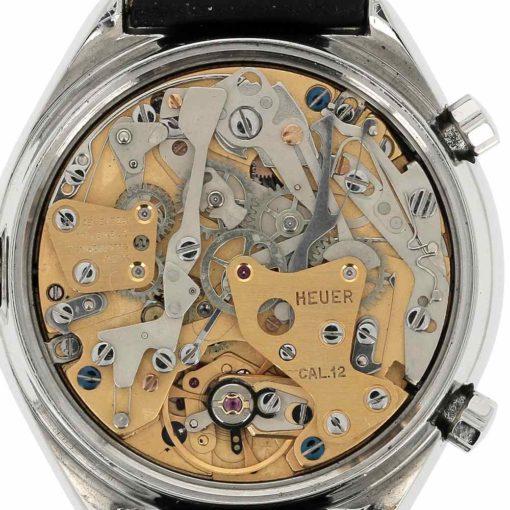 montre bracelet Heuer carrera calibre 12 mouvement