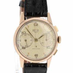 montre bracelet Heuer pre carrera cadran