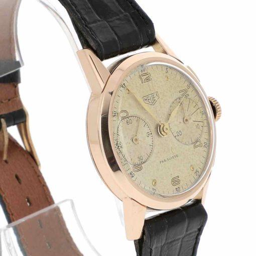 montre bracelet Heuer pre carrera lunette