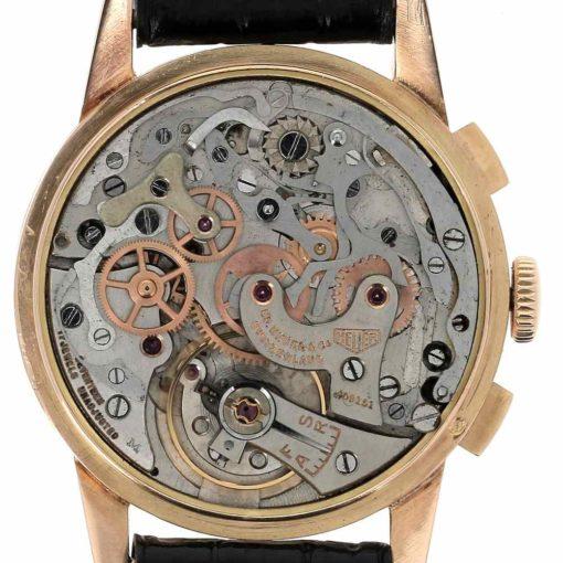 montre bracelet Heuer pre carrera mouvement