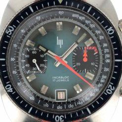 montre bracelet Lip chrono cadran 2