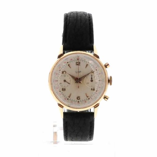montre bracelet Lip chronographe R106 cadran 2