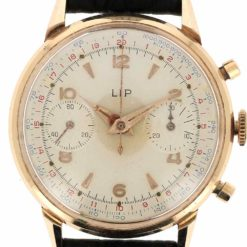 montre bracelet Lip chronographe R106 cadran