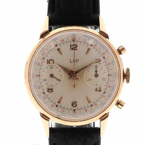 montre bracelet Lip chronographe R106 cadran 3