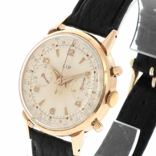 montre bracelet Lip chronographe R106 remontoir
