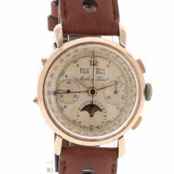 montre bracelet Mathey Tissot chronographe quantieme cadran 2