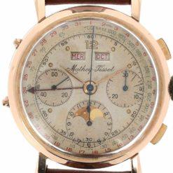 montre bracelet Mathey Tissot chronographe quantieme cadran 3