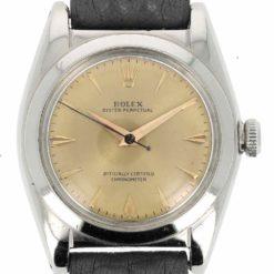 montre bracelet Rolex bubble back acier cadran 3