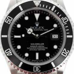 montre bracelet Rolex sea-dweller 16600 cadran