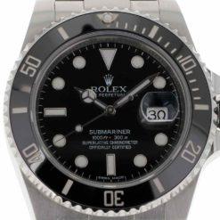 montre bracelet Rolex submariner 116610 cadran 3