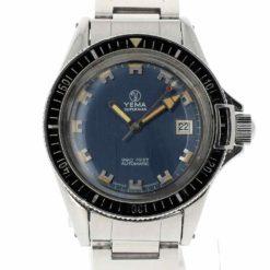 montre bracelet Yema superman 24 11 17 cadran 2