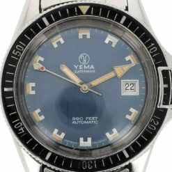 montre bracelet Yema superman 24 11 17 cadran 3