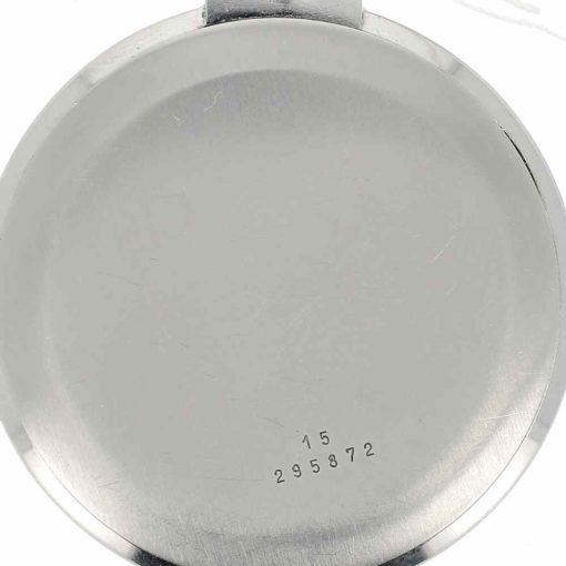 montre de poche Longines acier fond 2