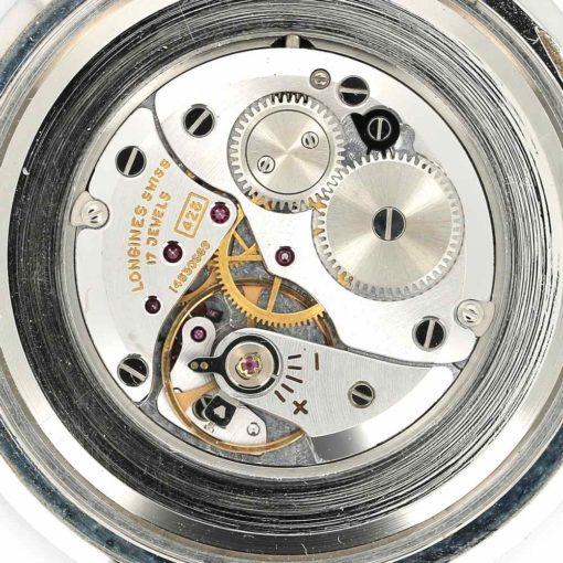 montre de poche Longines acier mouvement