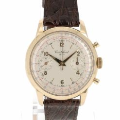 montre bracelet Cortébert chronographe cadran