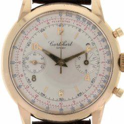 montre bracelet Cortébert chronographe cadran 3