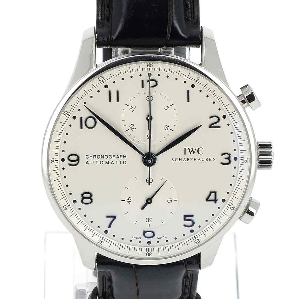 montre iwc portugaise chronographe occasion achetez en ligne sur watch montre paris. Black Bedroom Furniture Sets. Home Design Ideas