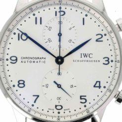 montre bracelet IWC portugaise cadran