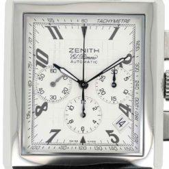 montre bracelet Zenith el primero cadran