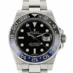 montre bracelet Rolex batman 116710BLNR cadran 2