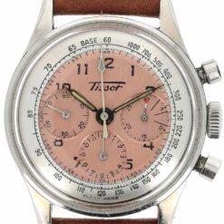 montre bracelet Tissot chronographe cadran 3
